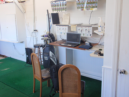 Video Swing Analysis Area